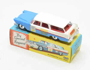 Corgi Toys 443 Plymouth U.S Mail Mint/Boxed The 'Geneva' Collection