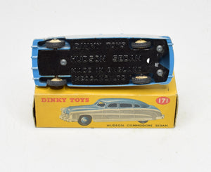 Dinky toys 171 Hudson Commodore Very Near Mint/Boxed (Low line cream hubs)