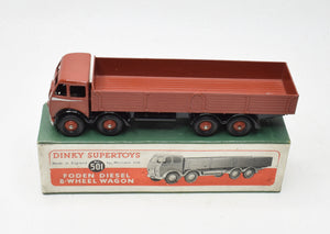 Dinky Toys 501 Foden Dropside Virtually Mint/Boxed The 'Valencia' Collection