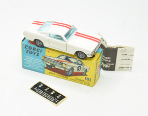 Corgi toys 325 Ford Mustang Very Near Mint/Boxed