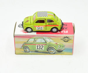 Mercury art 14 Fiat Abarth 595 SS Virtually/Boxed (New The 'Wickham' Collection)