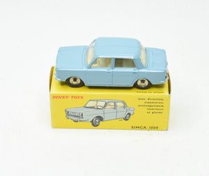 French Dinky 519 Simca 1000 Virtually Mint/Boxed The 'Wickham' Collection