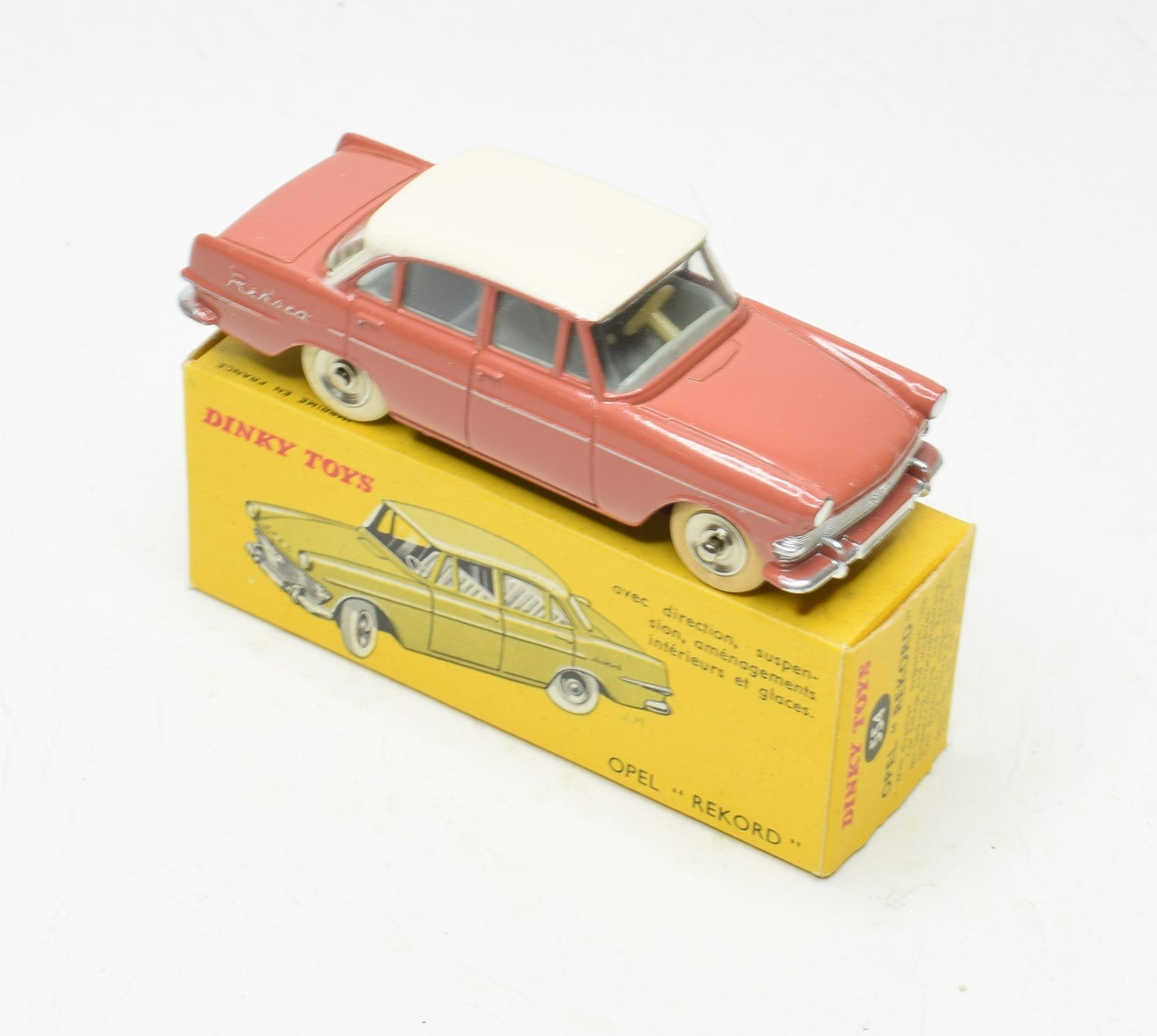 French Dinky 554 Opel Rekord Virtually Mint/Boxed The 'Wickham' Collection