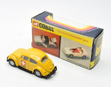 Corgi toys 383 VW 1200 Beetle PTT Very Near Mint/Boxed The 'Carlton' Collection