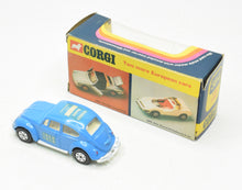 Corgi toys 384 VW 1200 '40th Anniversary' Virtually Mint/Boxed The 'Wickham' Collection
