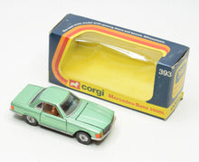 Corgi toys 393 Mercedes-Benz 350sl Very Near Mint/Boxed The 'Wickham' Collection