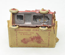 Johillco  Fire engine & men Very Near Mint/Boxed