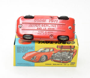 Corgi toys 314 Ferrari 'Berlinetta' 250 Virtually Mint/Boxed