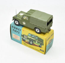Corgi Toys 357 Land-Rover Weapons carrier Very Near Mint/Boxed