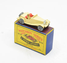 Matchbox Lesney 19 MG Midget TD RW/B1 box Virtually Mint/Boxed