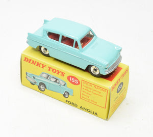 Dinky toys 155 Ford Anglia Virtually Mint/Boxed 'Wickham' Collection