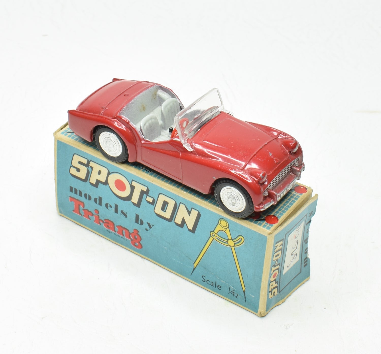 Spot-on 108 Triumph Tr3 Very Near Mint/Boxed M.T.B Collection