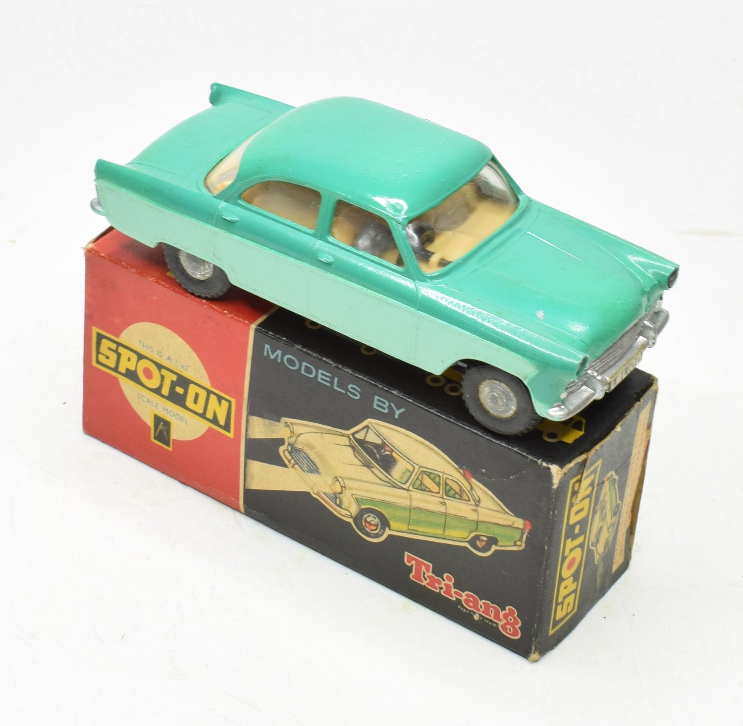 Spot-on 100sl Ford Zodiac Very Near Mint/Boxed M.T.B Cllection