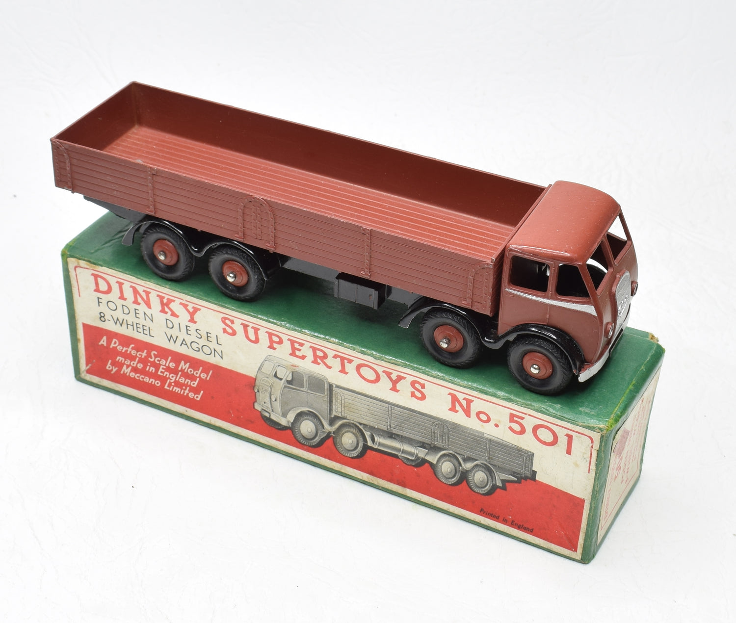 Dinky Toys 501 Foden Dropside Virtually Mint/Boxed