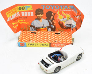 Corgi toys 336 James Bond Toyota Virtually Mint/Boxed