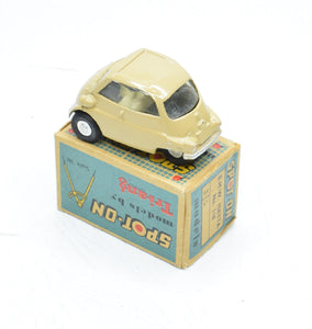 Spot-on 118 BMW Isetta Very Near Mint/Boxed M.T.B Collection