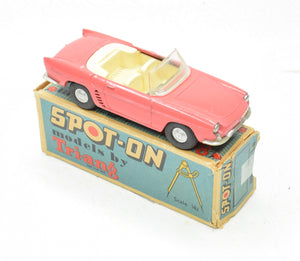 Spot-on 166 Renault Floride Very Near Mint/Boxed (Pink)