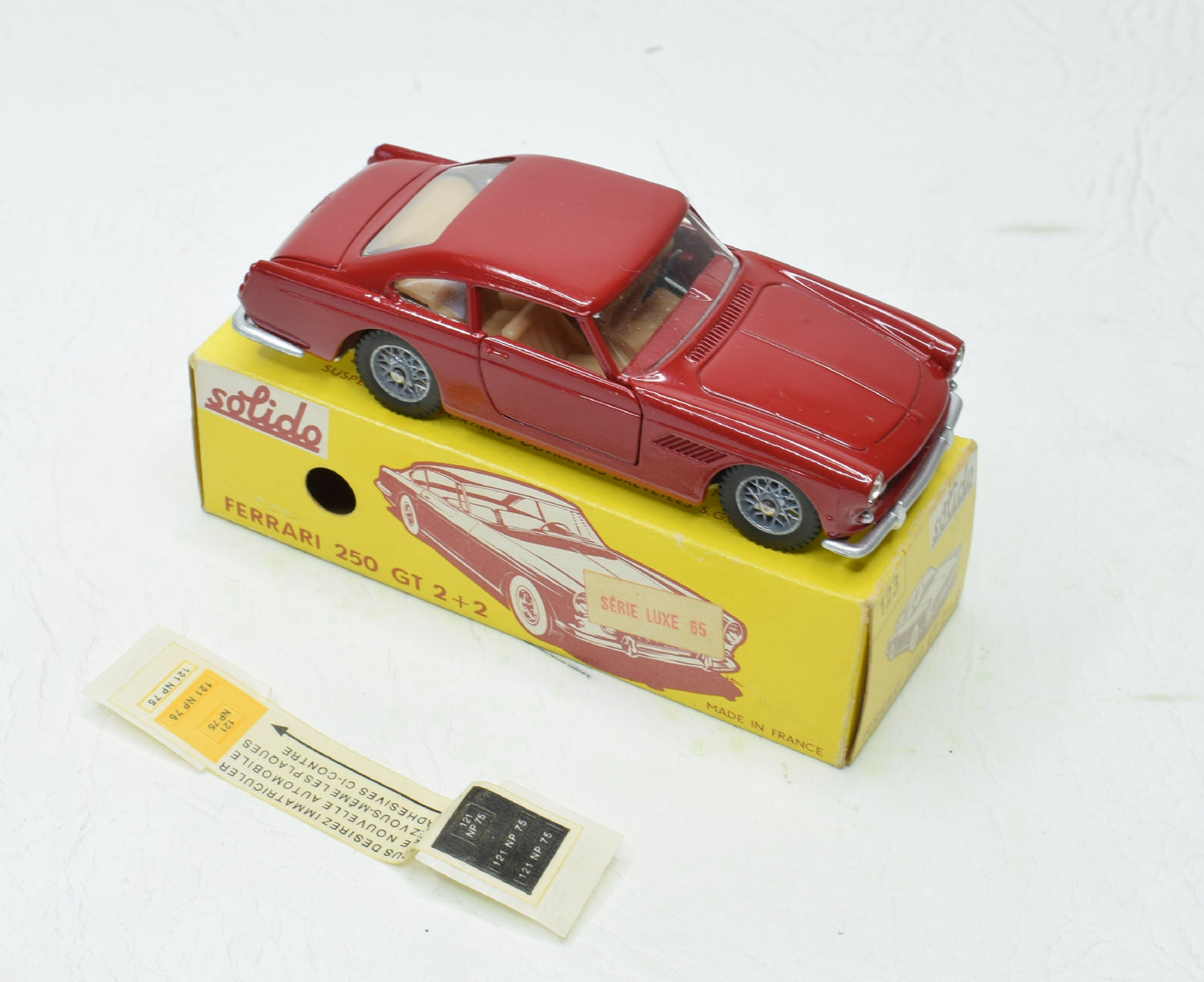 Solido 123 Ferrari 250 GT 2+2 Virtually Mint/Boxed