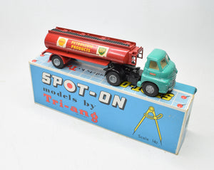 Spot-on 158A/2 Bedford 10 Tonner 2000 Gallon Tanker Very Near Mint/Boxed