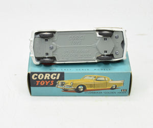 Corgi toys 211 Studebaker 'Golden Hawk' Virtually Mint/Boxed