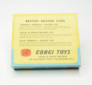 Corgi toys Gift set 5 British Racing cars Very Near Mint/Boxed 'Carlton'Collection