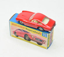Matchbox 75 Superfast Ferrari Berlinetta Virtually Mint/Boxed The 'Finley' Collection
