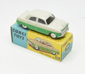 Corgi toys 200 Ford Consul Very Near Mint/Boxed 'Carlton' Collection