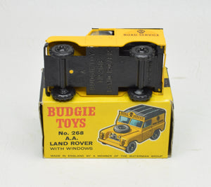 Budgie toys 268 A.A Land Rover Very Near Mint/Boxed