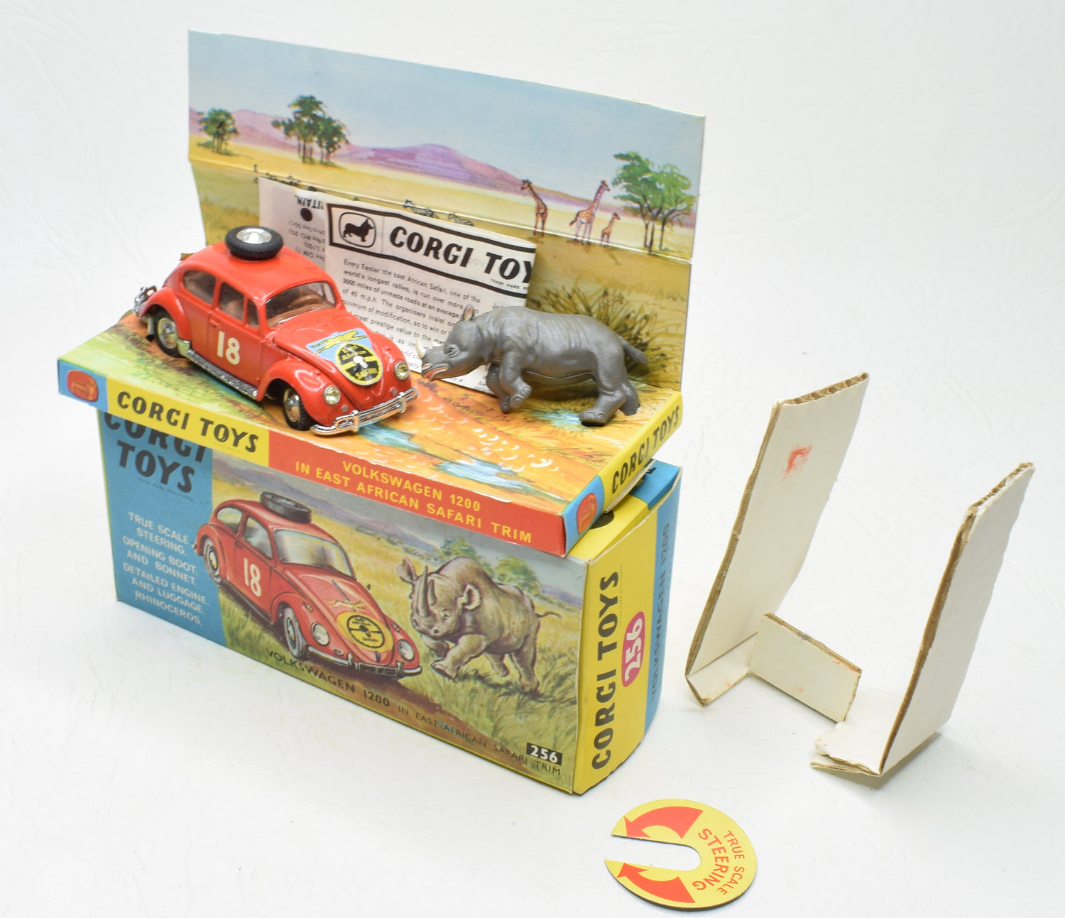 Corgi toys 256 VW East Africa Safari Virtually Mint/Boxed
