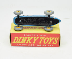 Dinky Toys 230 Talbot-Lago Virtually Mint/Boxed