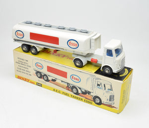 Dinky Toys 945 A.E.C 'Esso' Tanker Very Near Mint/Boxed