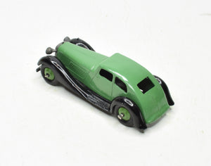 Dinky toys 36d Streamlined Rover Virtually Mint (Green hubs)