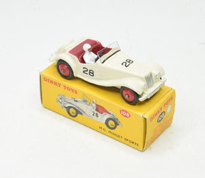 Dinky toys 109 M.G Midget Sports Very Near Mint/Boxed