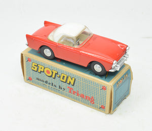 Spot-on 191/1 Sunbeam Alpine Very Near Mint/Boxed (Orange/red & White)