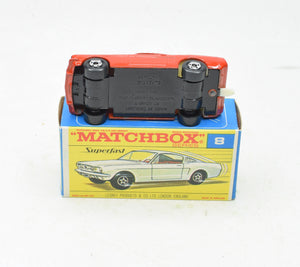 Matchbox Superfast 8 Ford Mustang Virtually Mint/Boxed The 'Victoria' Collection