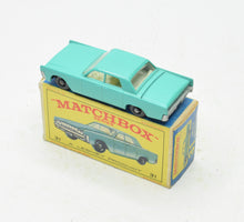 Matchbox 31 Lincoln Continental Very Near Mint/Boxed 'Finley' Collection