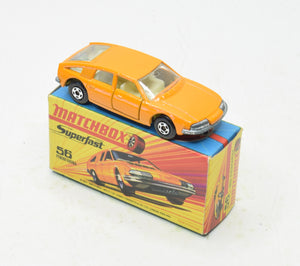 Matchbox 56 Superfast 1800 Pininfarina Virtually Mint/Boxed 'Finley' Collection