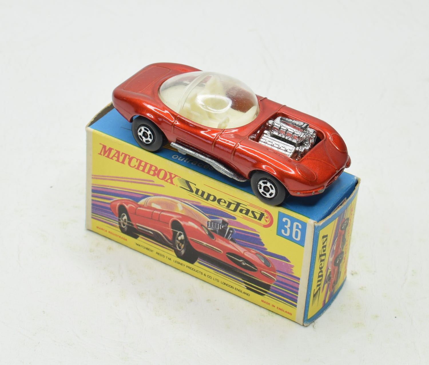 Matchbox Superfast 36 Dragular Virtually Mint/Boxed The 'Finley' Collection