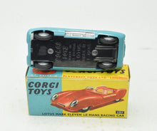 Corgi toys 151 Lotus Le Mans Very Near Mint/Boxed 'Ashdown' Collection