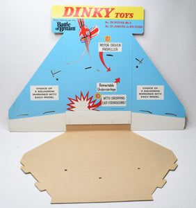 Dinky toys 'Battle of Britain' Shop display stand Virtually/Mint