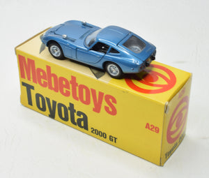 Mebetoys A29 Toyota 200 GT Virtually Mint/Boxed