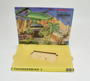 Dinky toy 101 Thunderbird 2 + 4 Very Near Mint/Boxed 'Carlton' Collection