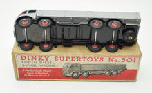 Dinky Toys 501 Foden Dropside Very Near Mint/Boxed