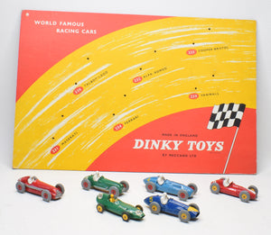 Dinky toys 'World Famous Racing cars' Very Near Mint 'Brecon' Collection (With delivery sleeve)