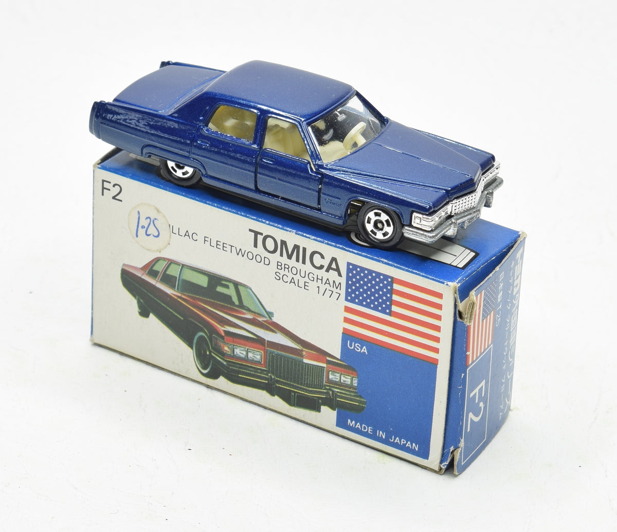 Tomica F2 Cadillac Fleetwood Virtually Mint/Boxed The 'Victoria' Collection