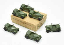 Dinky 152c Royal Tank Corps Austin 7 Trade set of 6 Virtually Mint/Boxed
