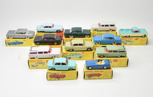 12 x French & English Dinky Toys 'South African' Very Near Mint/Boxed 'Brecon' Collection