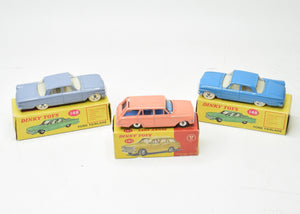 3 x English Dinky Toys 'South African' Very Near Mint/Boxed 'Brecon' Collection