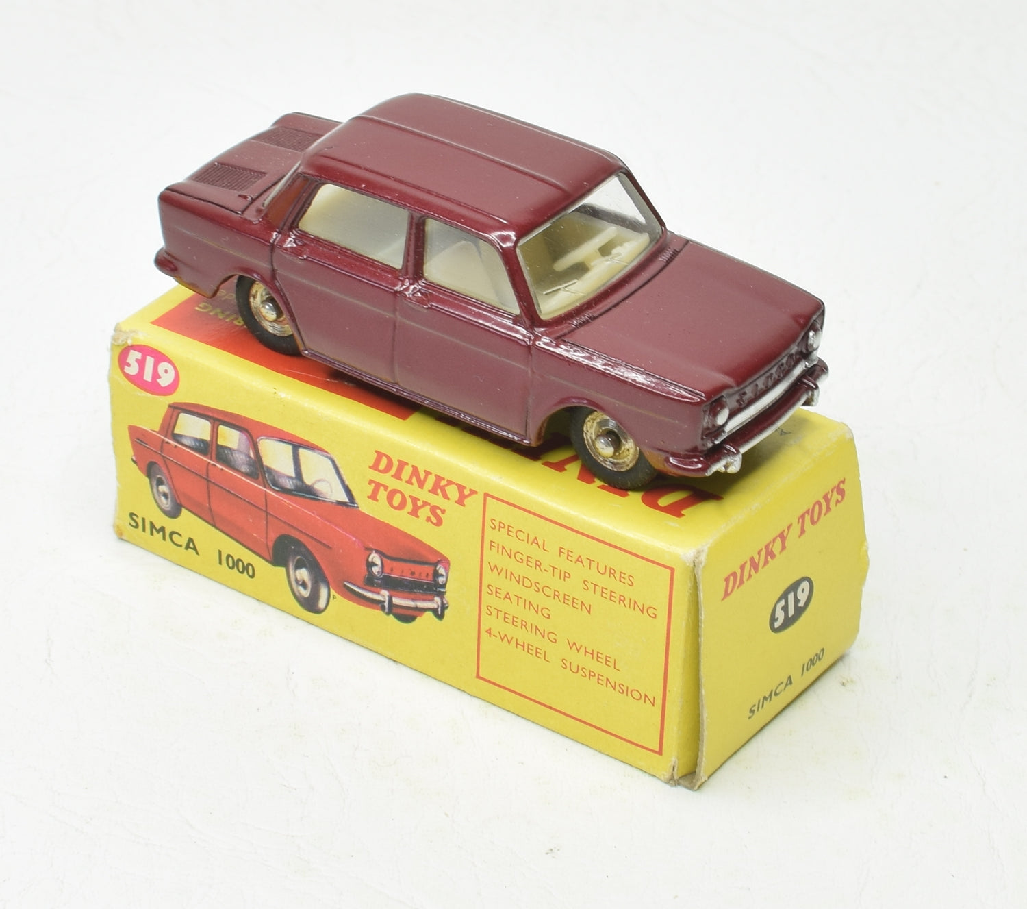 French Dinky Toys 519 Simca 1000 'South African' Very Near Mint/Boxed 'Brecon' Collection