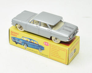 Dinky Toys 552 Corvair 'South African' Very Near Mint/Boxed 'Brecon' Collection (2nd example in silver)